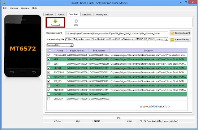 Download File Scatter MediaTek