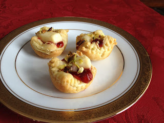 Brie & Cherry Cups