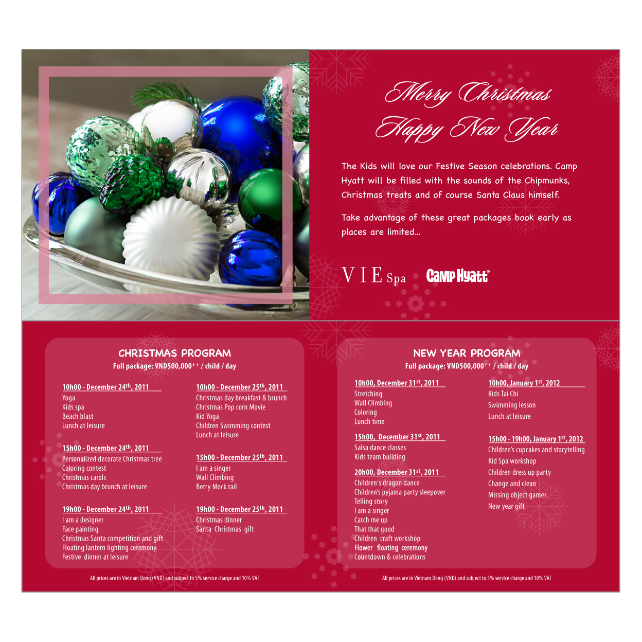 Christmas party program template ideas party invitation letter.