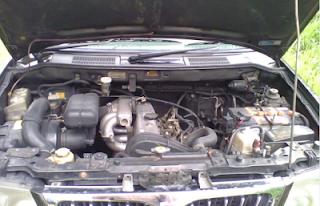 Mesin Mitsubishi Kuda