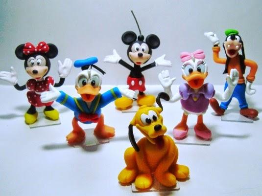 Turma do Mickey de biscuit