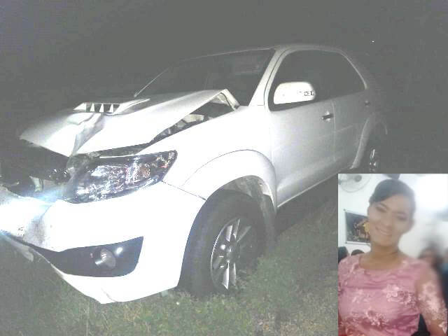 Mulher morre em colisão entre moto e carro na BA-030, em Brumado