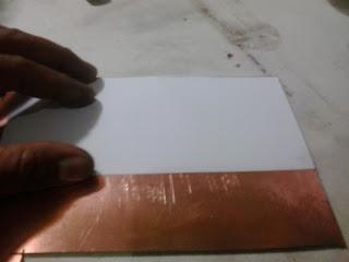 transferindo circuito pra placa