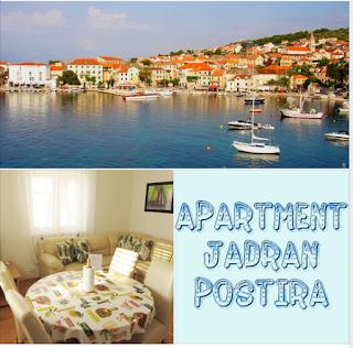 Apartments Jadran, Postira, island Brač, Croatia