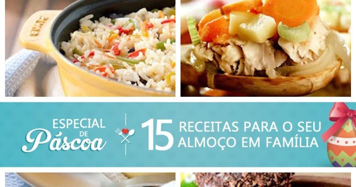 15 receitas para o seu almoço de Páscoa - Amando Cozinhar ...