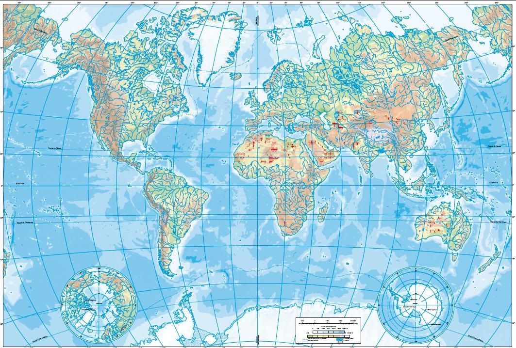 Cuaderno De Historia J Ossorio Mapa F Sico Del Mundo Mudo