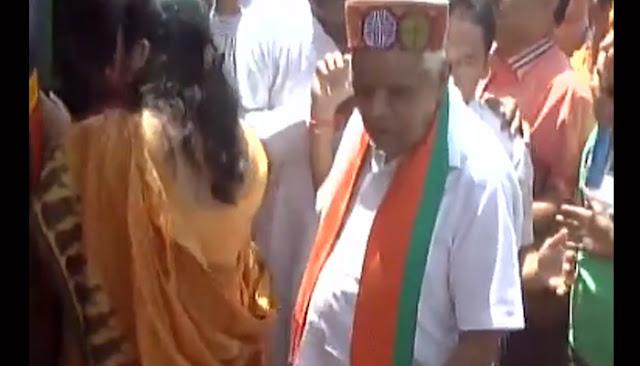 Home Minister Babulal Gaur