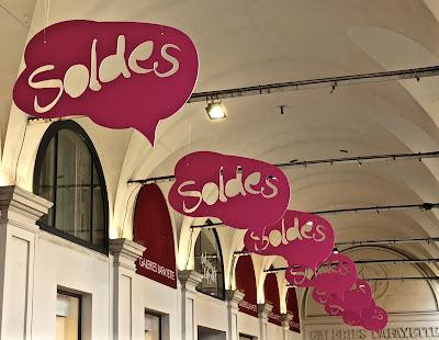 Les soldes Galeries Lafayette à Nice