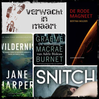 Bertina Mulder, Jane Harper, Graeme Macrae Burnet, Margje Woodrow, AW Bruna, De Fontein, Hollands Diep