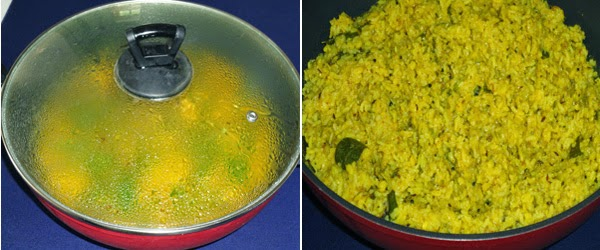 khichdi cooked till soft