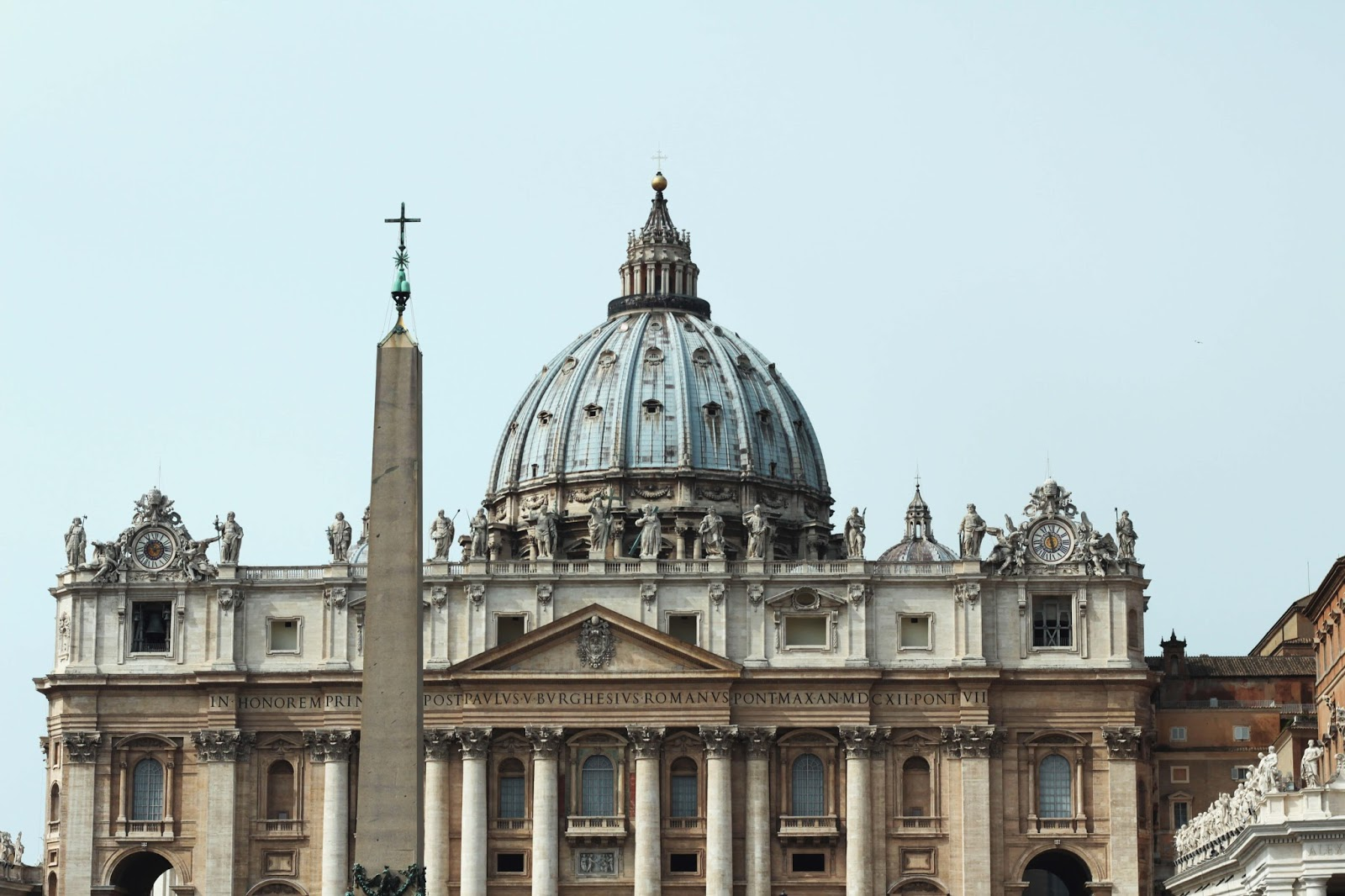 St Peter's Basilica UK rome travel diary