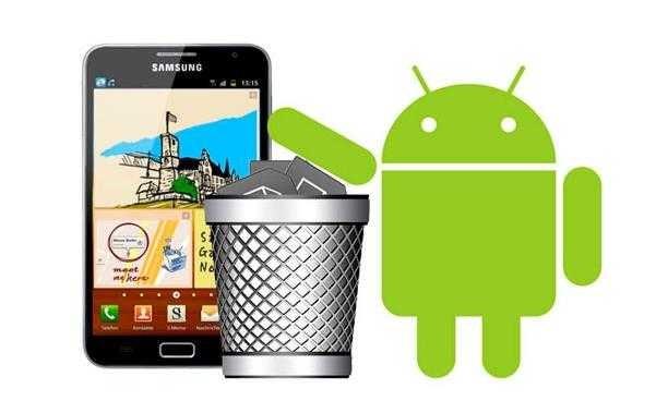 hapus aplikasi di android