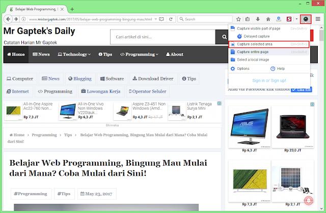 Begini Cara Mencetak Halaman Web dengan Hasil Rapi di Mozilla Firefox dan Google Chrome