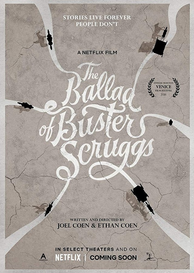 Nuevo Trailer de The Ballad of Buster Scruggs | NETFLIX