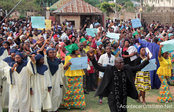 Cristianos nigerianos protestan contra la muerte e pastor