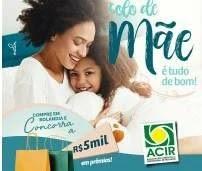 Cadastrar Promoção ACIR Rolândia Dia das Mães 2019 - Colo de Mãe é Tudo de Bom