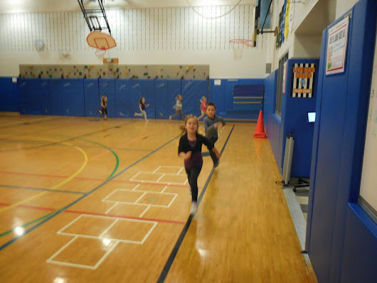 Fall Fitness At Glengary Elementary