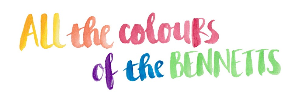Colours of B