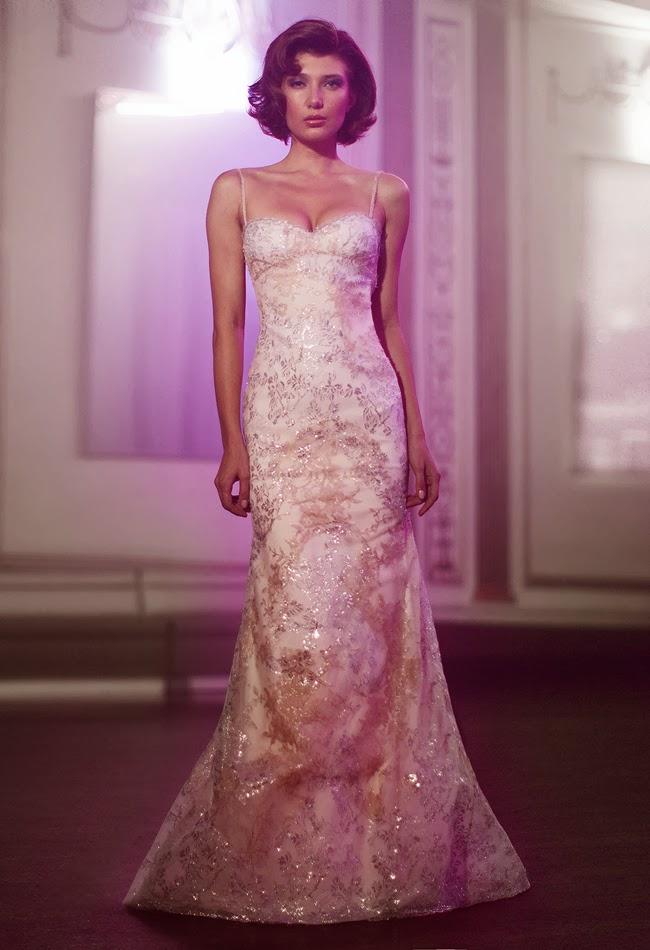Maravillosos vestidos de novia Anne Bowen\'s | Colección Primavera ...