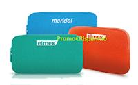 Logo ''Scegli il tuo colore con Elmex e Meridol 2018'': un astuccio Tucano con 2 prodotti come omaggio certo