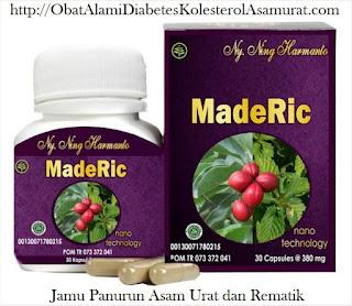 Agen Jual Maderic Asli Herbal Tradisional Obat Alami Asam Urat Reumatik