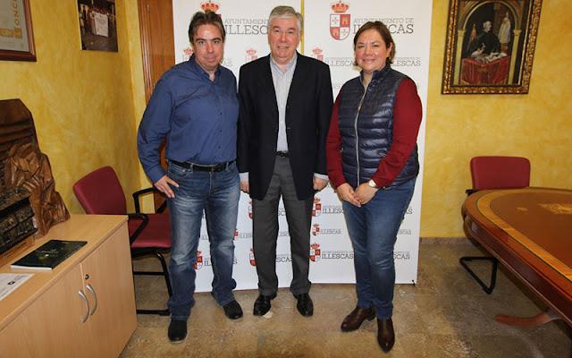 representantes-accion-sin-fronteras-alcalde-illescas-jose-manuel-tofiño-03032016. IMAGEN COMUNICACION ILLESCAS
