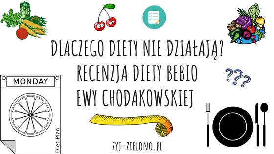 Dlaczego Diety Nie Dzialaja Recenzja Diety Bebio Ewy Chodakowskiej