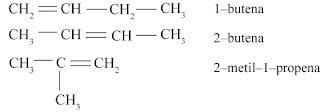 isomer struktur butena