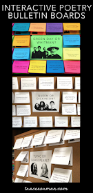 Interactive Poetry Bulletin Boards www.traceeorman.com