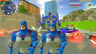 لعبة Rope Hero: Vice Town عالم مفتوح مهكرة للاندرويد [اخر اصدار]