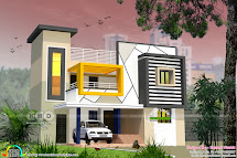 South Indian Style 2350 Square Feet Contemporary Home