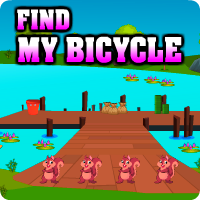 AvmGames Find My Bicycle Walkthrough