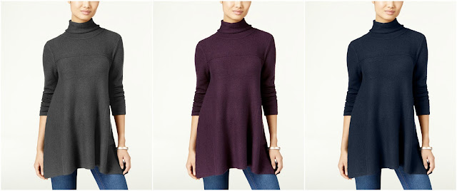 Style & Co Turtleneck Tunic Sweater $28 (reg $55)