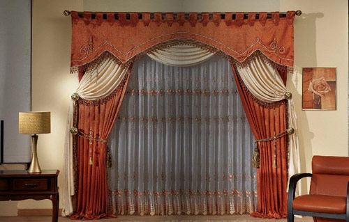 Perfect Materials And Fabric For Style Of Art Deco Curtains