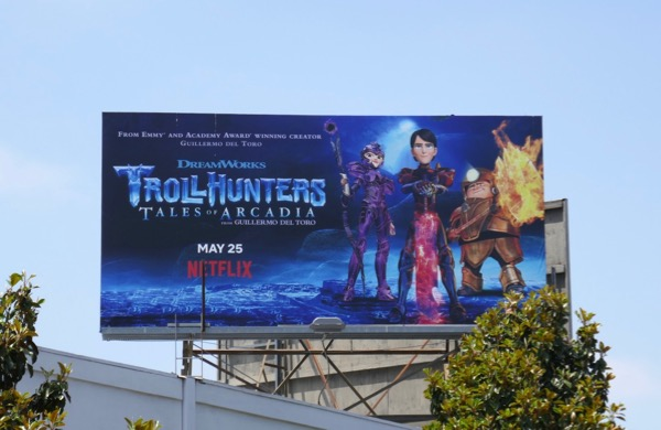 Trollhunters Tales of Arcadia season 3 billboard
