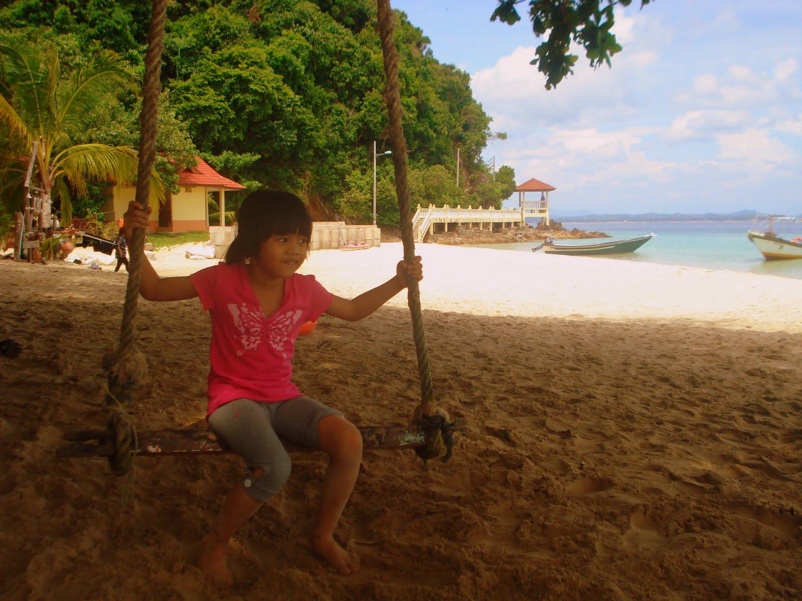 Infront Of Makcik Gemuk Resort