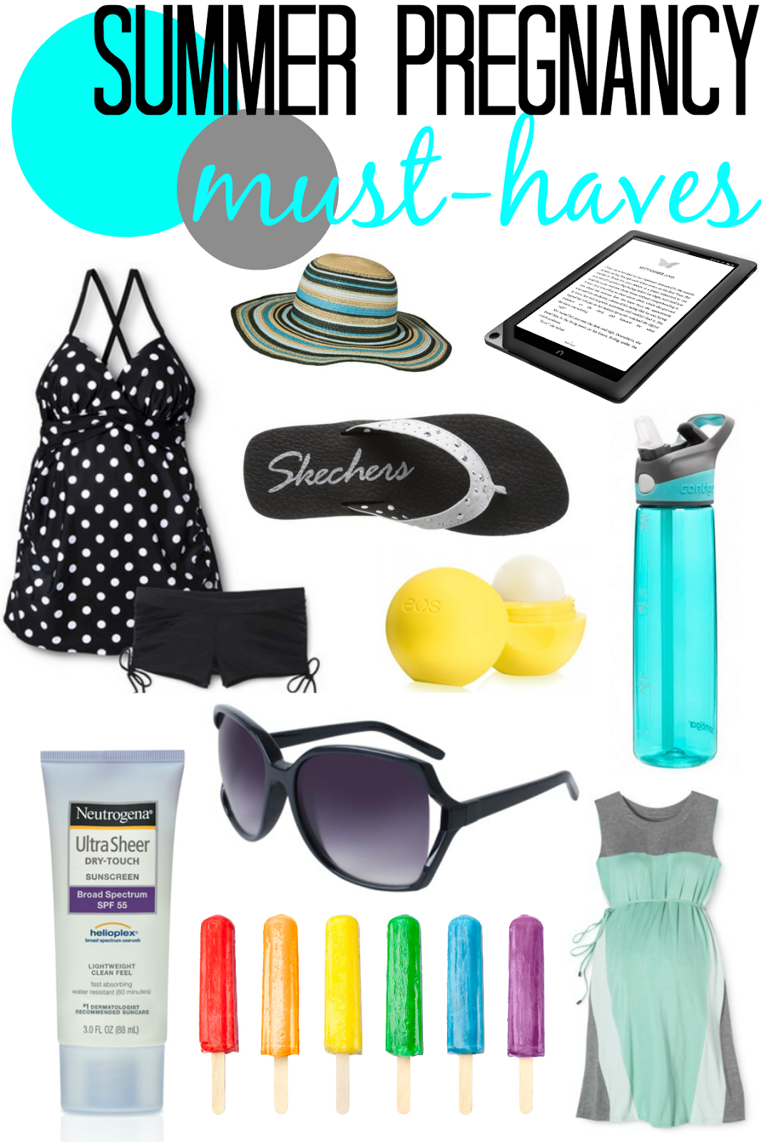 Summer Must Haves: Lulu & Sweet Pea: Summer Pregnancy Must-haves: How To Beat