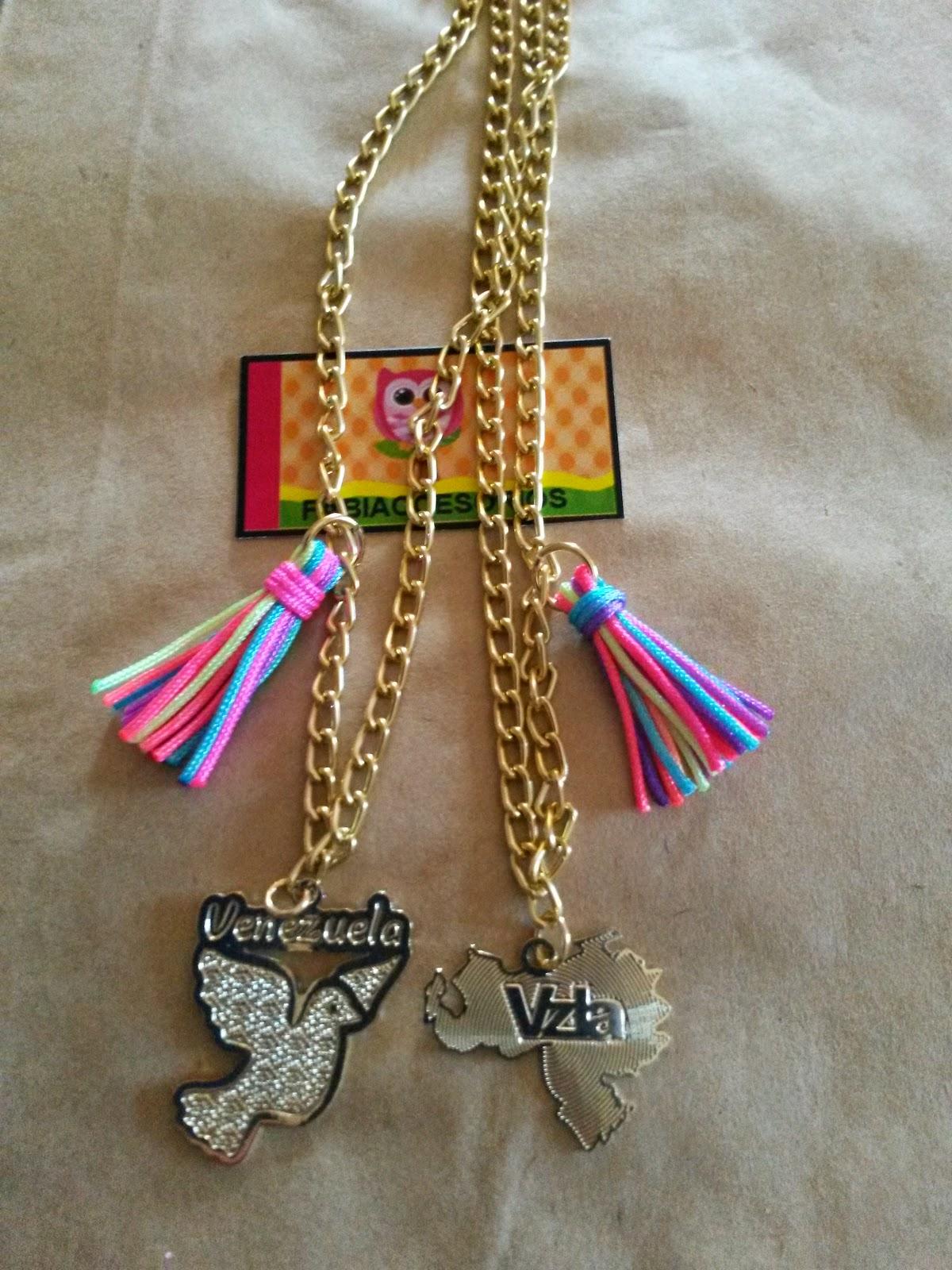 1669e2931c69 Hermosos collares representativos de nuestro pais Venezuela