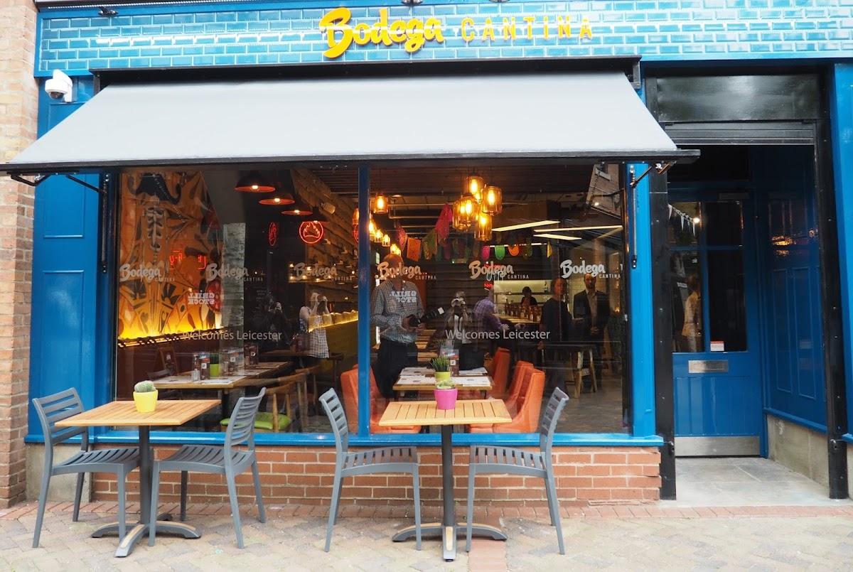 Bodega Cantina review food Leicester St Martins Midlands