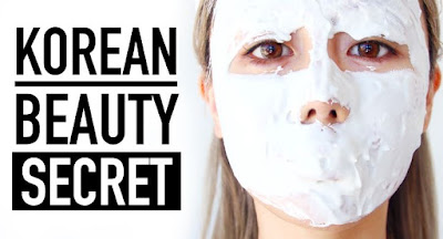Masker Wajah Rahasia Kecantikan Kulit Wanita Korea Putih Mulus
