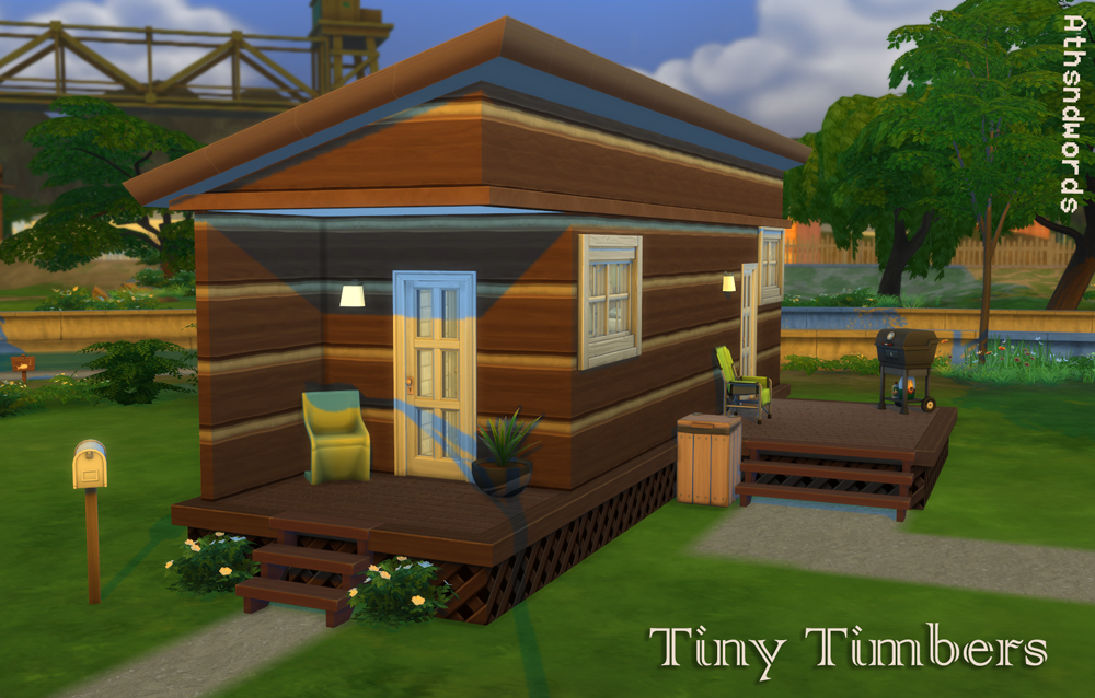 Athsndwords Sims 4 Designs: Tiny Timbers