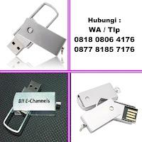 Flashdisk Swifel Metal, Usb Metal Putar, USB Metal Swivel FDMT03, Flashdisk Metal Custom Termurah Di Indonesia