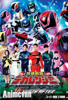 Siêu Nhân Deka - Tokusou Sentai Dekaranger 2005 Poster
