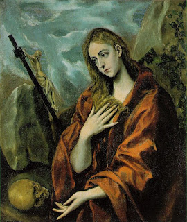 El greco-penance of mary magdalene [1587-97]