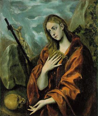 El greco-penance of mary magdalene [1587-97]