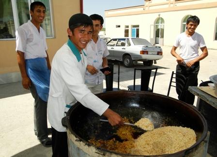 Gastronomia de Uzbekistan