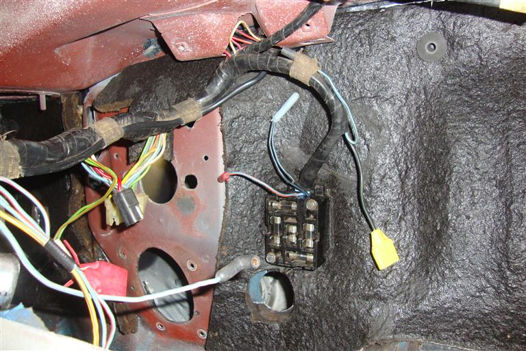 69 mustang heater wiring diagram 07 ford ranger radio 1968 convertible restoration: harnessing the power
