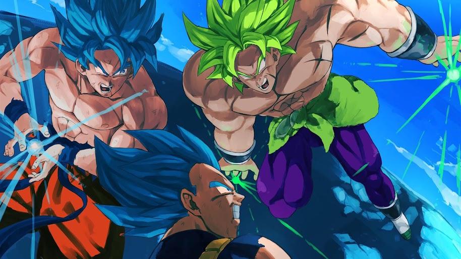 Dragon Ball Super Broly Goku Vegeta 4k Wallpaper 23
