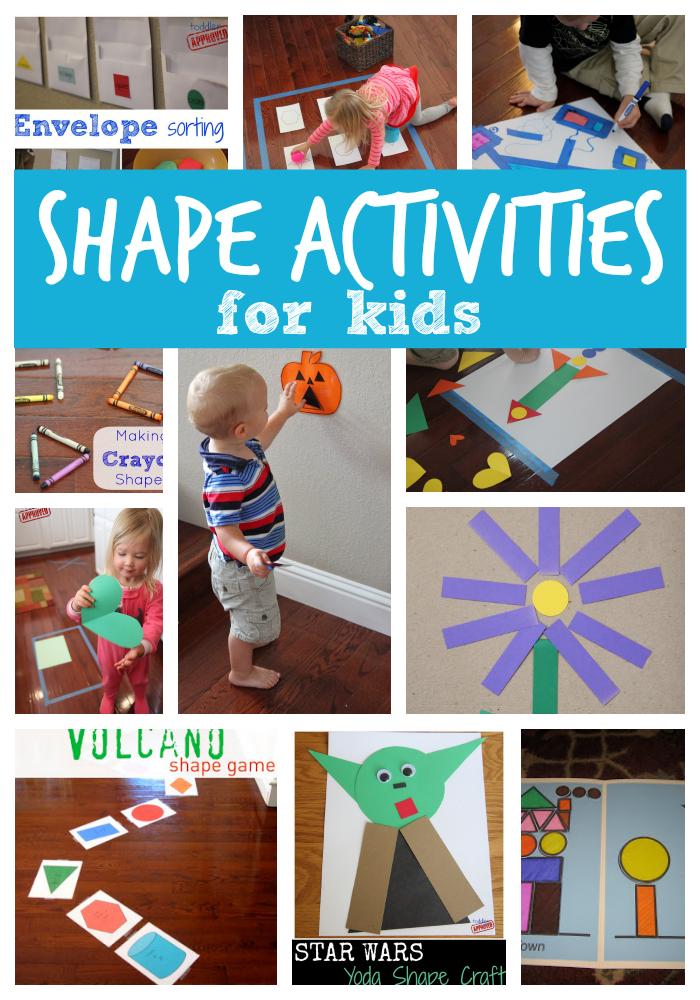 toddler approved 25 shape activities and crafts for kids. Black Bedroom Furniture Sets. Home Design Ideas