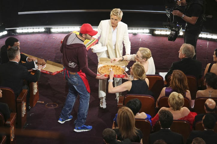 Watch! The Oscar pizza delivery guy gets $1000 tip on Ellen Show